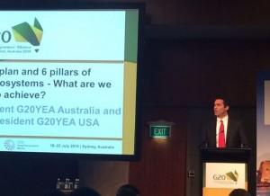 Kevin Langley at G20YEA